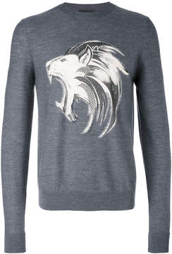 Just Cavalli lion print sweatshirt