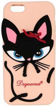 DSQUARED2 3d Cat Silicone Iphone 6 Case