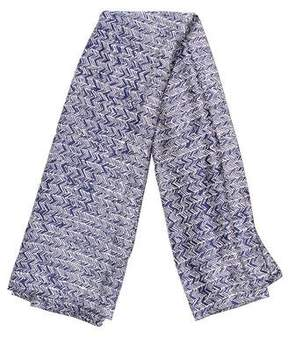 Balenciaga Silk Printed Scarf