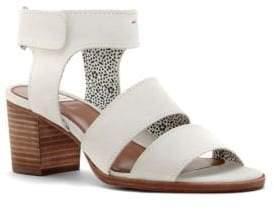 ED Ellen Degeneres Tahni Leather Open-Toe Sandals