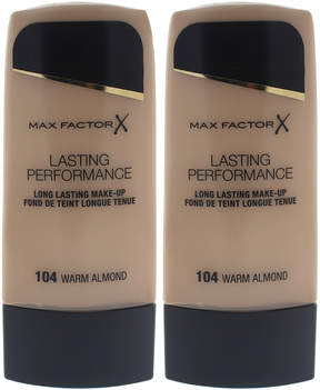 Max Factor Warm Almond Lasting Performance Foundation - Set of Two