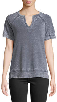 Allen Allen Short-Sleeve Burnout Terry Tee