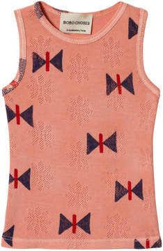 Bobo Choses Lobster Bisque Butterfly Tank Top