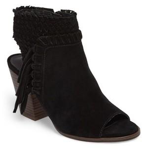 Lucky Brand Women's Ointlee Fringe Bootie Sandal