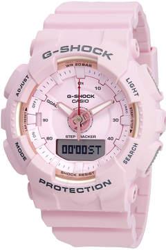 Casio G-Shock S Series Alarm Pink Dial Ladies Watch