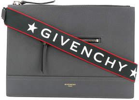 Givenchy streamlined messenger bag