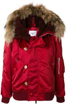 Dondup hooded bomber jacket