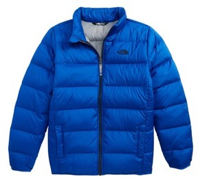 The North Face Boy's Andes Water Repellent 550-Fill Power Down Jacket
