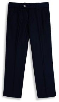 Isaac Mizrahi Little Boy's & Boy's Solid Flat-Front Pants