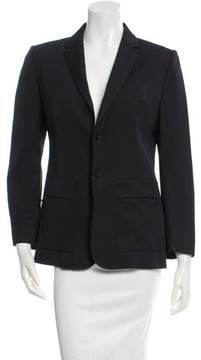 CNC Costume National Navy Notch Lapel