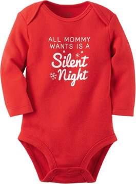 Carter's Baby Boys Silent Nights Bodysuit