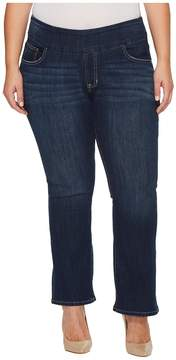 Jag Jeans Plus Size Petite Paley Pull-On Boot in Surrel Denim in Meteor Wash Women's Jeans