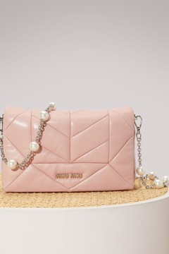 Miu Miu Cristal leather bag