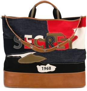 Sonia Rykiel Secret patchwork tote