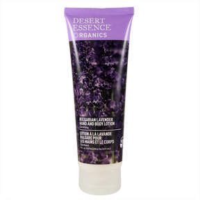 Bulgarian Lavender Hand & Body Lotion by Desert Essence (8oz Lotion)