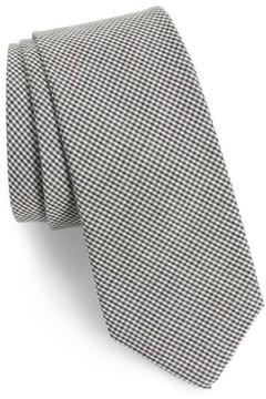 1901 Men's Celera Gingham Skinny Tie