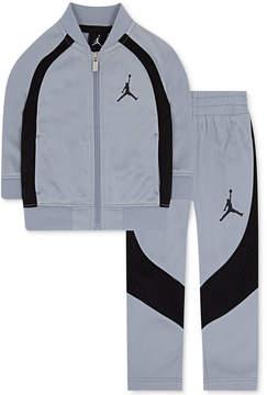 Jordan 2-Pc. Colorblocked Active Jacket & Pants Set, Little Boys (4-7)