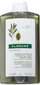 Klorane Shampoo with Essential Olive Extract.