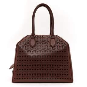 Alaia Brown Leather Handbag