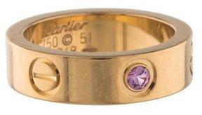 Cartier Pink Sapphire LOVE Ring