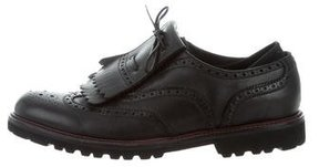 Emporio Armani Leather Kiltie Brogues