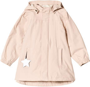 Mini A Ture Pale Pink Waterproof Jacket