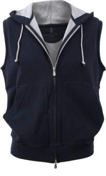 Brunello Cucinelli Hooded Zip Vest