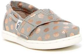 Toms Bimini Foil Polka Dot Slip-On Sneaker (Baby, Toddler, & Little Kid)