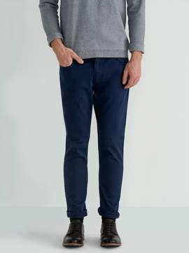 Frank and Oak The Lincoln 5-Pocket Twill Pant in Dress Blue