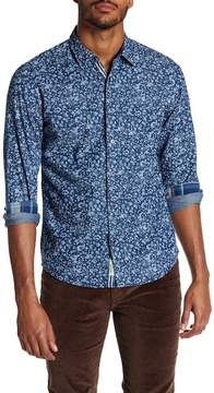 Report Collection Floral Print Slim Fit Shirt