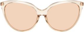 Linda Farrow Luxe Women's Mirrored Cat Eye Frame