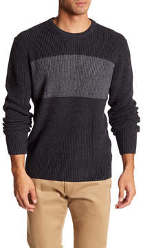 Weatherproof Color Block Textured Sweater