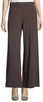 Joan Vass Wide-Leg Ankle Pants