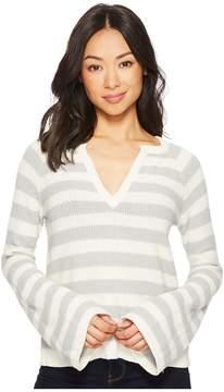 Lilla P Full Sleeve Split-Neck Women's Clothing