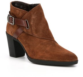 The Flexx Saddle Up Suede Buckle Detail Booties
