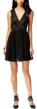 BCBGeneration Women's Babydoll Dress (8, Black)