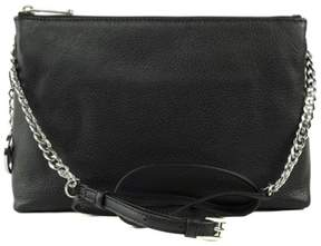 Michael Kors Jet Set Chain Item Tz Messenger Soft Venus Sh Rhodium, Color Black - ONE COLOR - STYLE