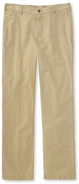 L.L. Bean Tropic-Weight Chino Pants, Standard Fit Plain Front