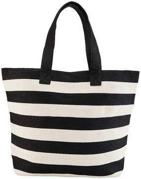 San Diego Hat Company Women's Wide Stripe Tote Bag