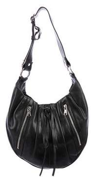 Saint Laurent Grained Leather Shoulder Bag