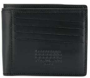 Maison Margiela Men's Black Leather Wallet.