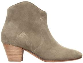 Isabel Marant 50mm Dicker Suede Ankle Boots