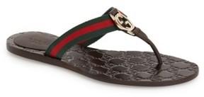 Gucci Women's 'Gg' Logo Sandal