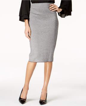 Alfani Jacquard Midi Sweater Skirt, Created for Macy's