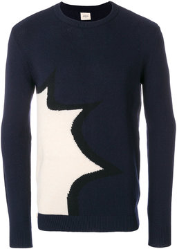 Bellerose colour block jumper