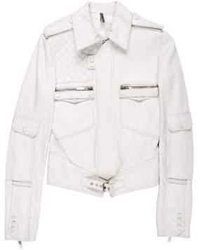 Christian Dior 2007 Leather Moto Jacket
