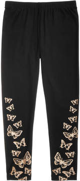 Epic Threads Big Girls Border-Print Butterfly Leggings, Created for Macy's