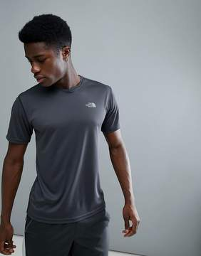 The North Face Mountain Athletics Running T-Shirt Dome Logo In Dark Gray