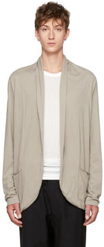 Attachment Beige Shawlneck Cardigan