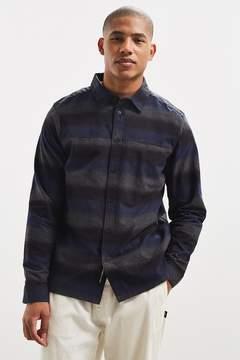 NATIVE YOUTH Mython Striped Flannel Button-Down Shirt